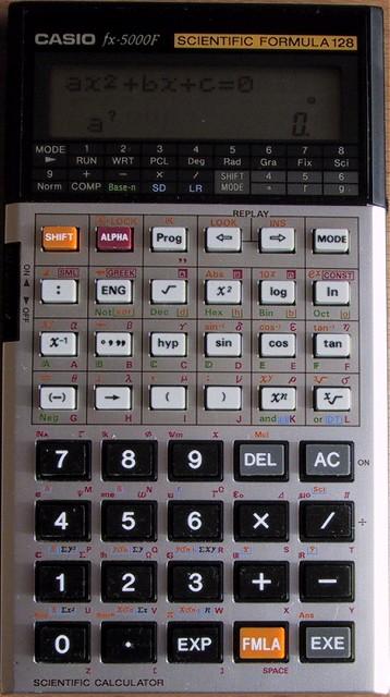 Casio Fx 5000f