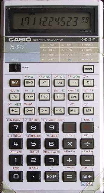 The Calculator Geek Thread